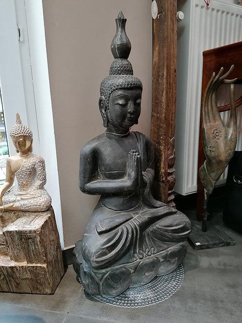 Bouddha Thaï Pierre Naturelle  85cm