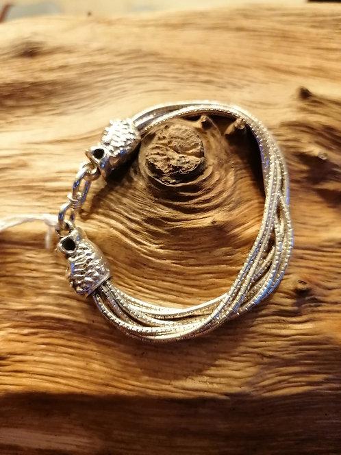 Bracelet Snake Argent 17,5cm