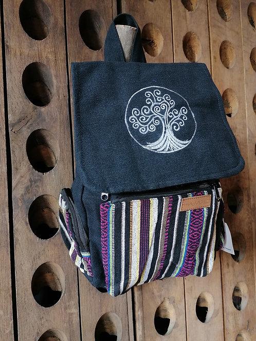 MACHA sac à dos coton JM10 arbre de vie