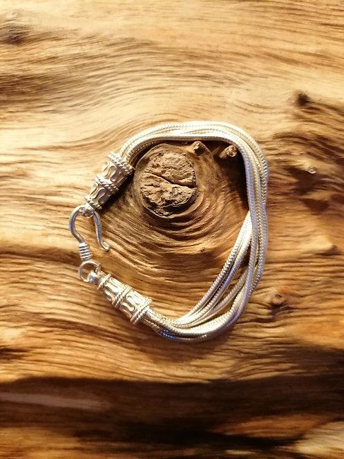 Bracelet Snake Argent 17cm