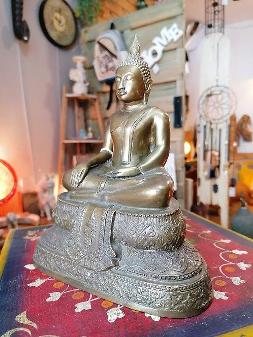 Bouddha Thaï Bronze 23.5cm