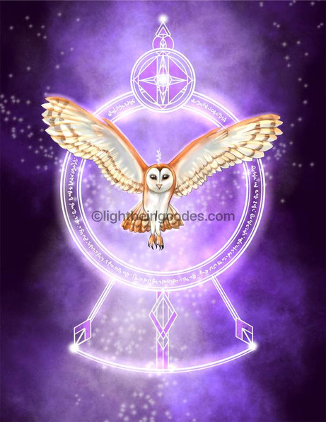 Light Code Activation by the Power of the Owl