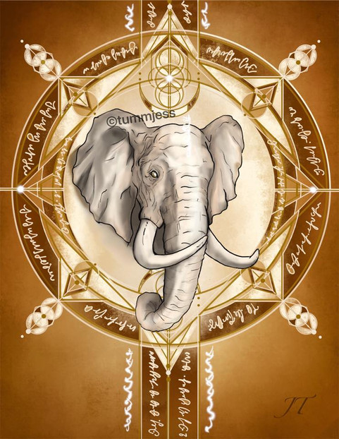 Light Code Activation by the Power of the Elephant
