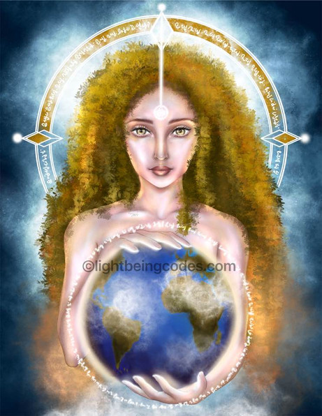 Light Code Activation by the Power of the Goddess Gaia