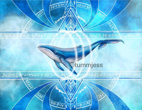 Personalized Light Code Activation by the Power of the Whale