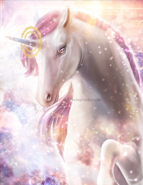 Light Code Activation by the Power of the Unicorn