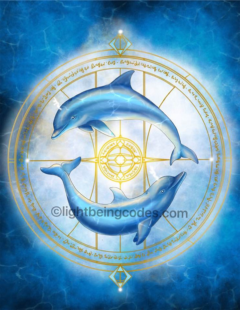 Personalized Light Code Activation by the Power of the Dolphin for Bernadette O'shara