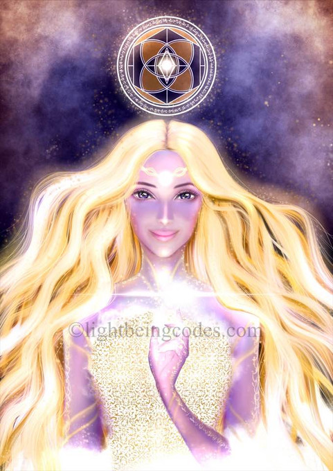 Light Code Activation by the Power of Shentaia (Personal Higher self version of Heather)