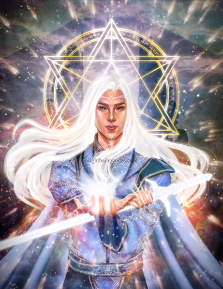 Light Code Activation by the Power of your Divine Masculine Essence - a force of will and clarity
