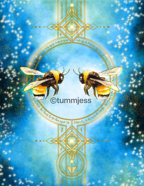 Light Code Activation by the Power of the Bee🐝