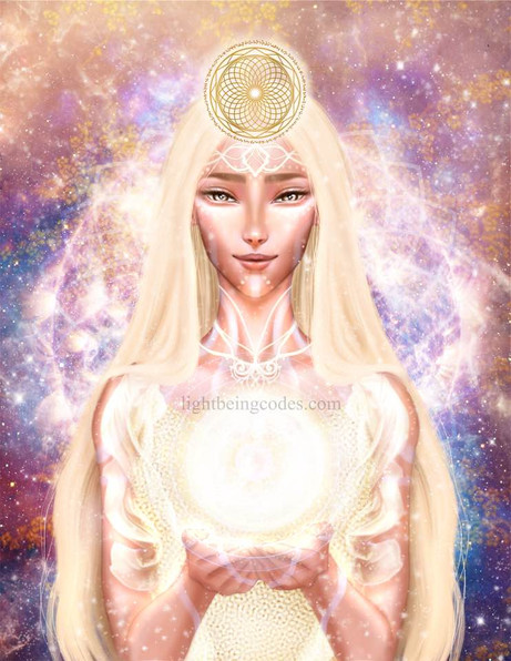 Light Code Activation by the Power of Ka-ha-lee (Future Human)