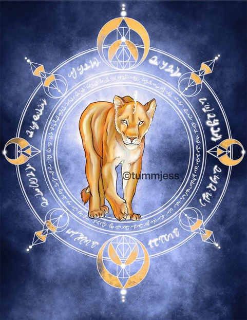 Light Code Activation by the Power of the Lioness