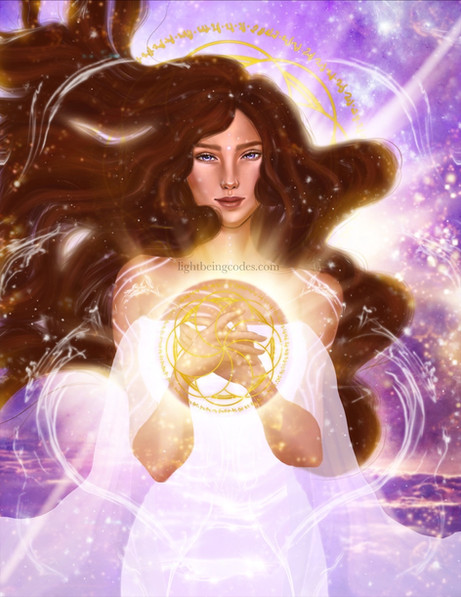 Light Code Activation by the Power of the Divine Feminine