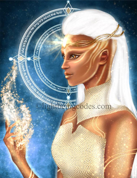Light Code Activation by the Power of the Lemurian High Priestess