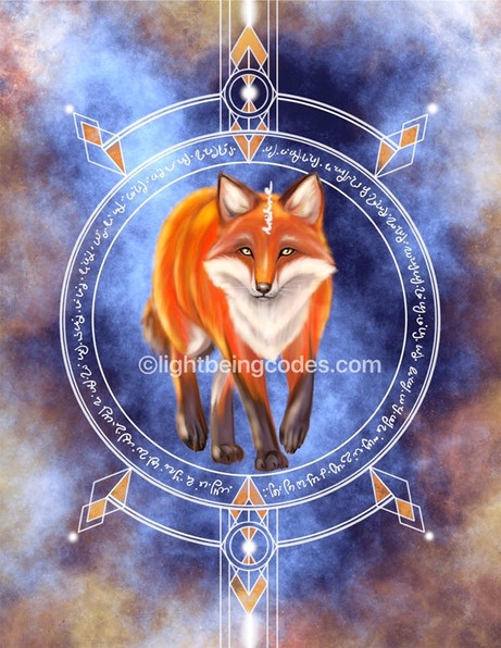 Light Code Activation by the Power of the Fox 🦊