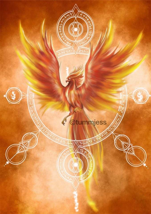 Personalized Light Code Activation by the Power of the Phoenix for Audrey