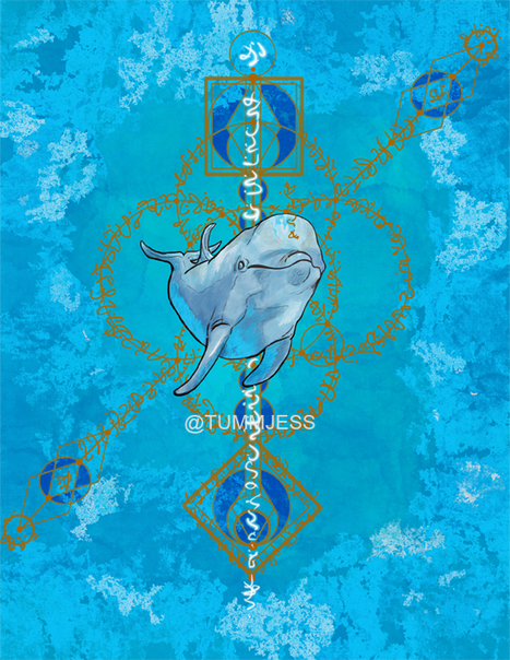 Light Code Activation by the power of the Dolphin