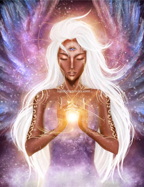 3rd Eye Light Code Activation by the Power of the Higher Self