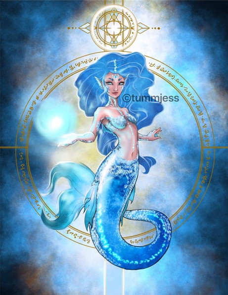 Light Code Activation by the Power of the Mermaid 🧜♀️