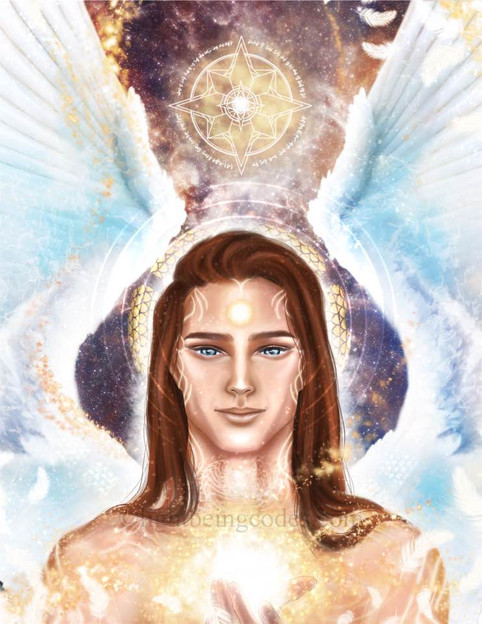 Light Code Activation by the Power of Archangel Zadkiel