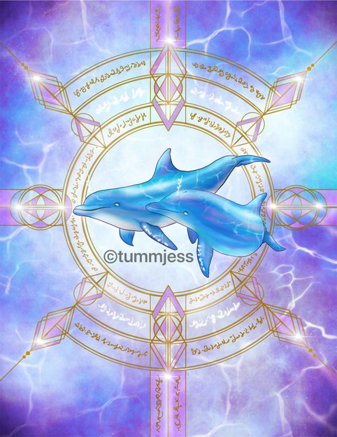 Personalized Light Code Activation by the Power of the Dolphin