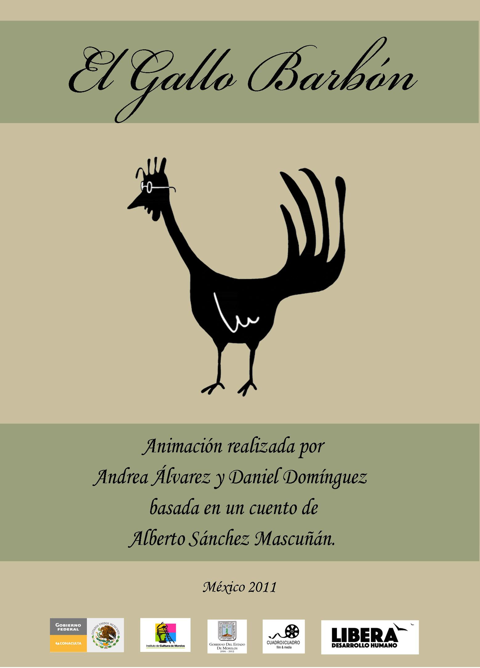 Poster Gallo Barbon
