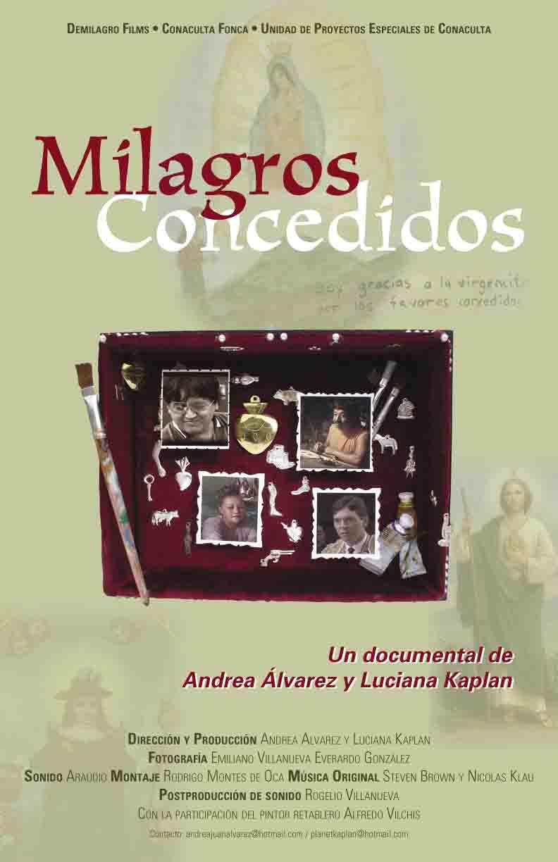 cartel milagros