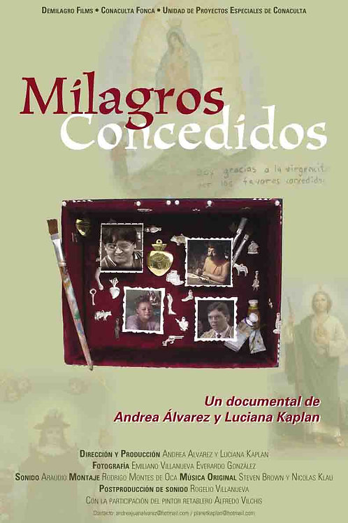 DVD- Milagros Concedidos