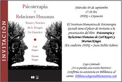 Invitacion Libro Rogers IHPG
