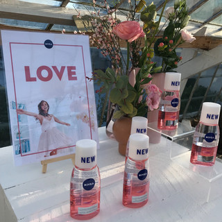 For NIVEA, we organised an 'Live Love Care' beauty launch event in a dreamlike greenhouse – creating a colourful spring vibe on what actually was the coldest day of 2018.