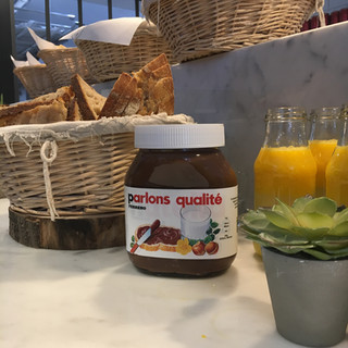 In order to present Nutella's CSR initiatives, we organised a Nutella Press Breakfast in one of Brussels' best bakeries.
