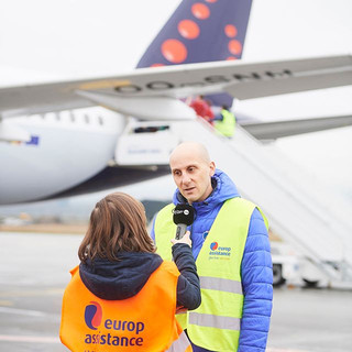 Interel Plus ensured nationwide media coverage for travel insurance company Europ Assistance's Snow Plane, a flight bringing back home injured winter sporters.