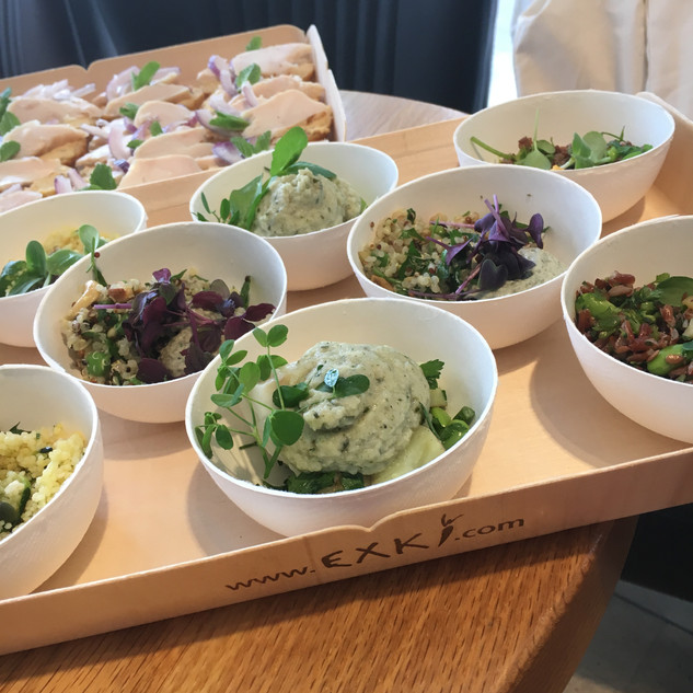 We spoiled our favourite food and corporate journalists with EXKi's healthy food to present the new Spring range and EXKi's eco strategy.