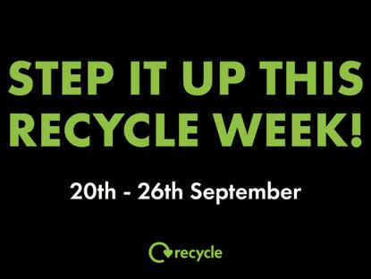 Recycle Week 20-26 September 2021
