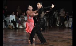 professional ballroom latin dancers