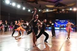 ballroom latin dance instructor
