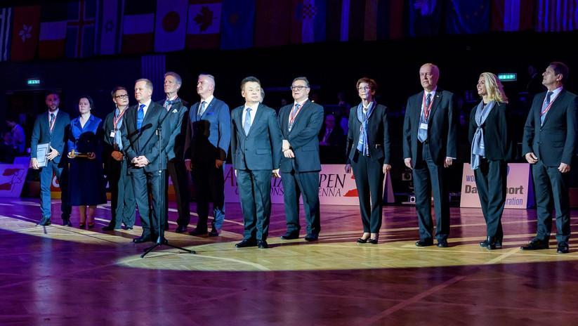 WDSF Presidential Handover Ceremony