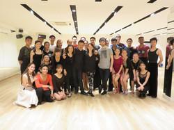 Adult dance workshops singapore