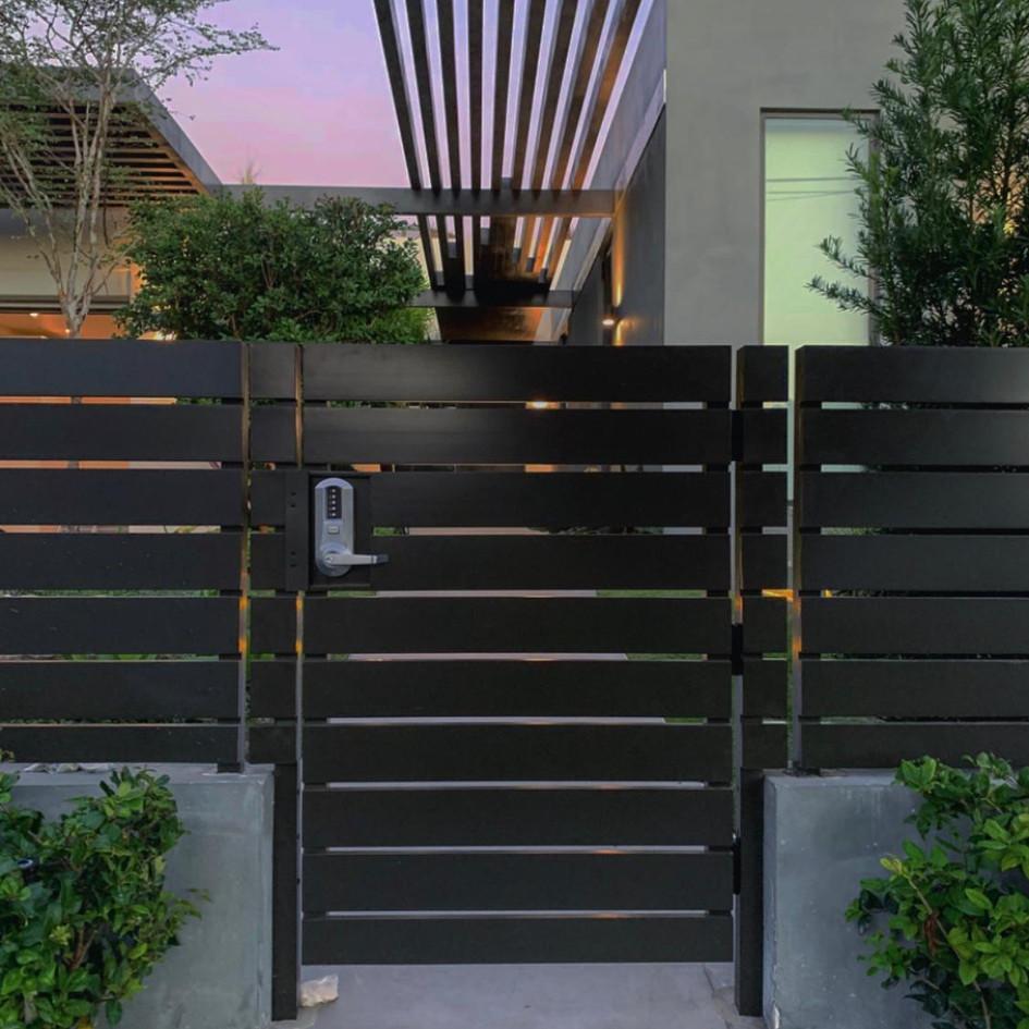 Aluminium Pedestrian Door  05
