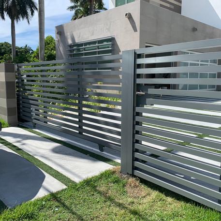 Aluminium Fence 29