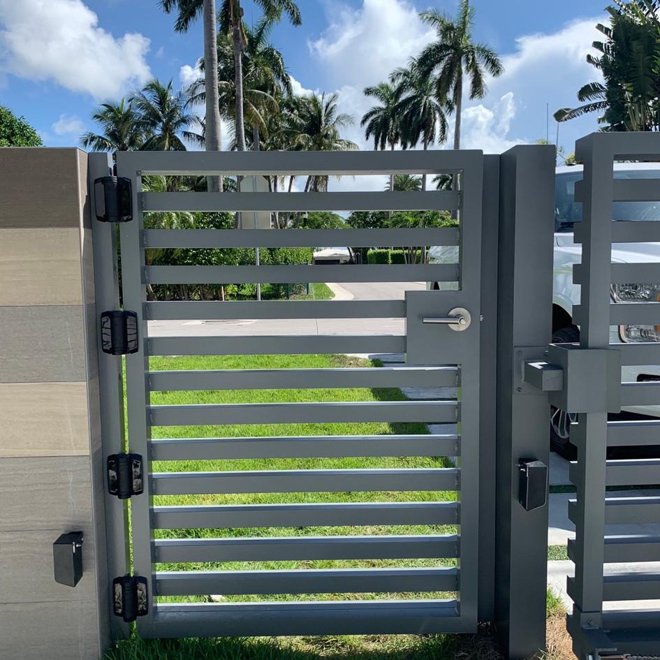 Aluminium Pedestrian Door 49