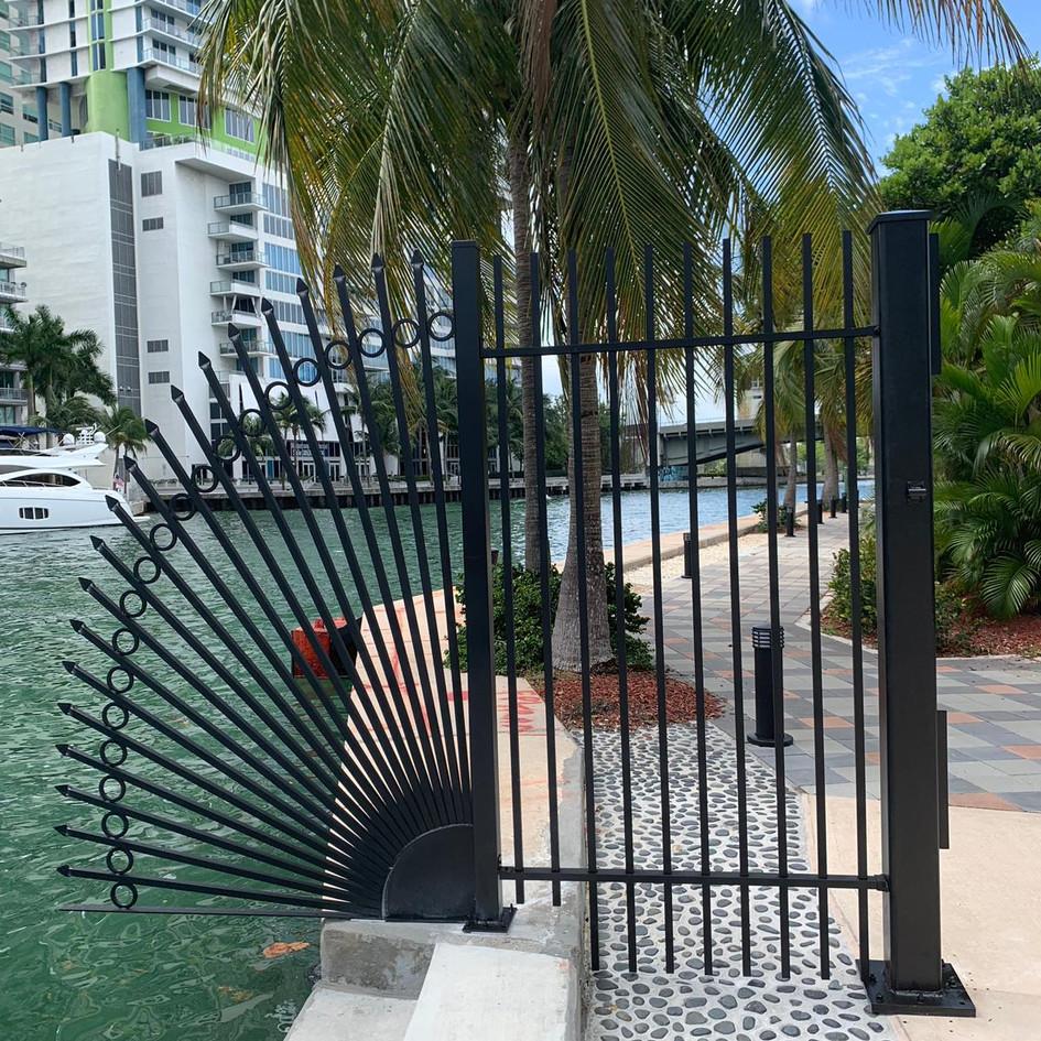 Aluminium Fence 25