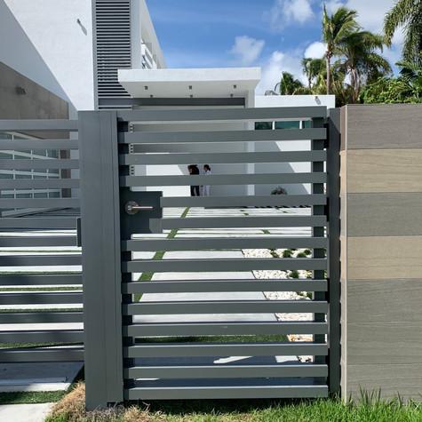 Aluminium Pedestrian Door 39