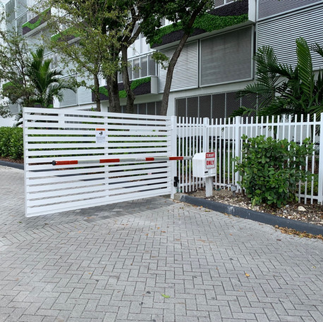 Aluminium Swing Mode Gate 33
