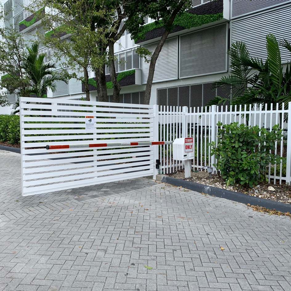 Aluminium Swing Mode Gate 33