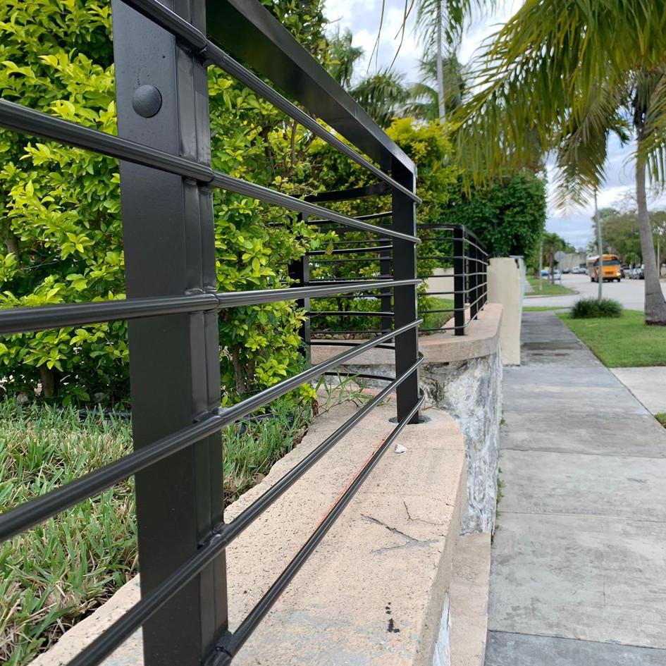 Aluminium Fence 19
