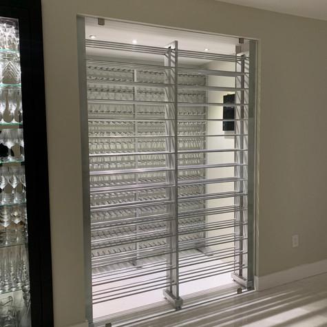 Aluminium Wine Rack 45