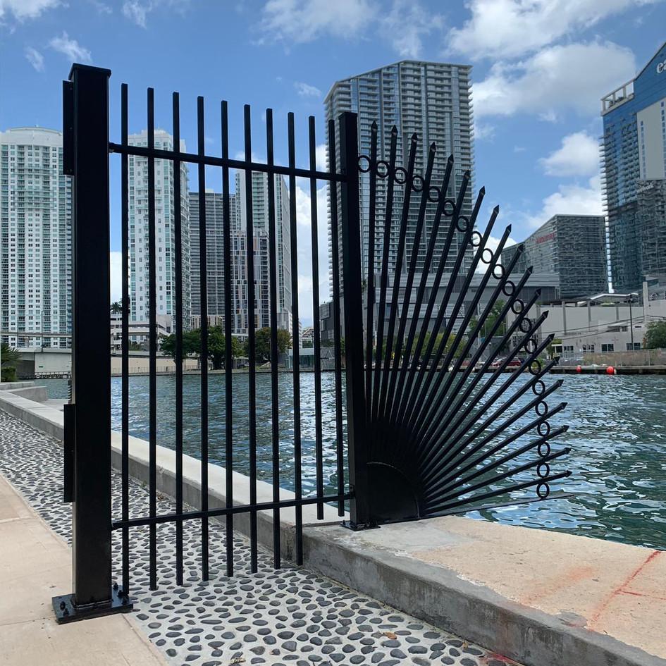 Aluminium Fence 12