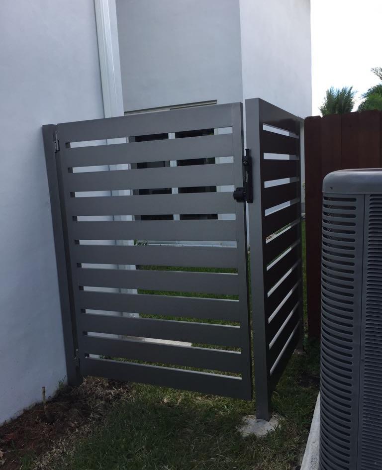 Aluminium Pedestrian Door 08