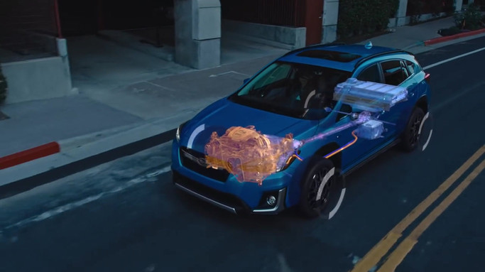 2019 Subaru Crosstrek Hybrid SUV Feature
